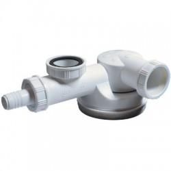 Siphon évier 1 cuve, gain de place Wirquin Pro