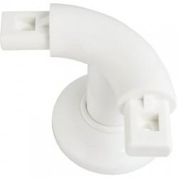 Support coudé à 90° pour système polyalu Pellet ASC