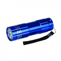 Torche à LED en aluminium 9 LED