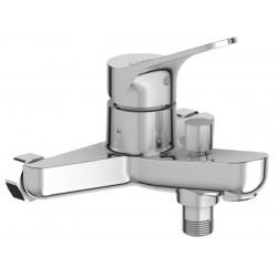 Mitigeur Brive bain douche mural sans raccords réf. E75767-CP
