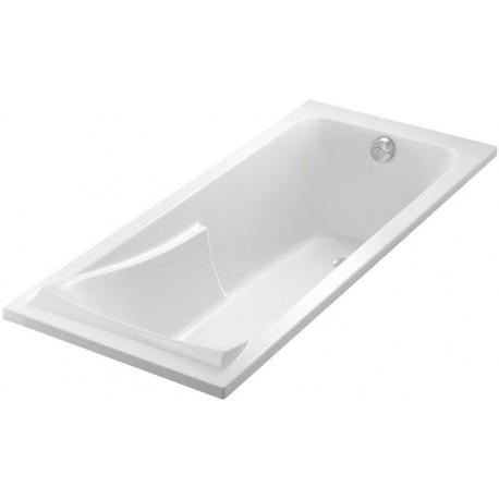 Baignoire CORVETTE 3 170x75cm blanche avec pieds réglables réf. E60901-00