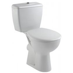 Pack WC EOLIA réservoir avec mécanisme 3/6 litres sortie horizontale, blanc Réf E040300