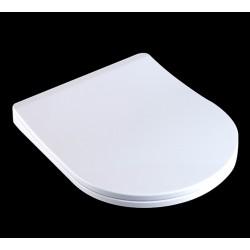 Abattant WC avec frein de chute et déclipsable pour nettoyage facile