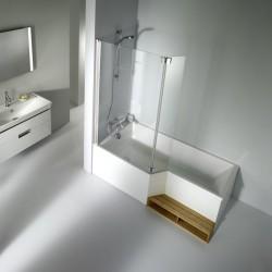 Baignoire bain douche néo Jacob Delafon