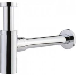 Siphon chromé design pour lavabo