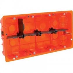 Boîte d'encastrement Batibox multimatériaux 2 x 10 postes Legrand