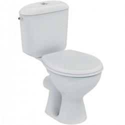 Pack WC pret a poser PORCHER NOE, sortie horizontale, charnière alu Ref.P948001