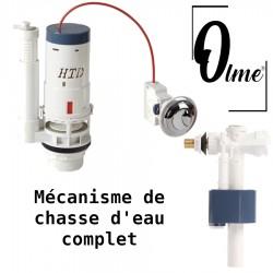Mécanisme de chasse d'eau complet Olme, garantie 5 ans