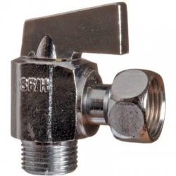 Robinet d'arrêt 1/4 de tour équerre manette métal