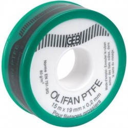 Ruban PTFE Olifan spécial gros diamètre Geb