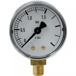 Manomètre gaz radial 0 à 1,5 bar Clesse