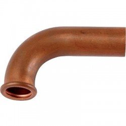 53c - douille coudée cuivre
