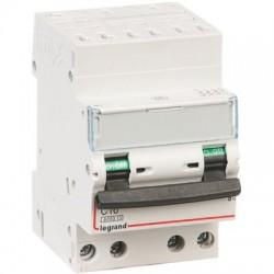 Disjoncteur DX³ 6000 - 10 kA courbe C, protection des départs Legrand