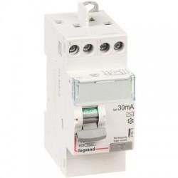Interrupteur différentiel bipolaire DX³-ID protection tête de groupe - arrivée haut/départ haut Legrand