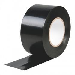 Isolant PVC plastifié noir