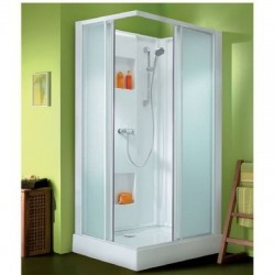 Cabine Izi Box rectangle portes coulissantes Leda