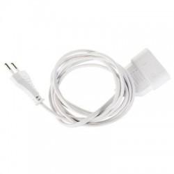 Prolongateur câble méplat blanc Dhome