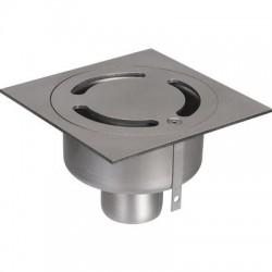 Siphon inox 150 x 150 pour la collectivité ACO