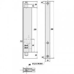 Serrure à cylindre 2253/2271 Stremler