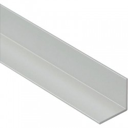 Cornière égale aluminium brut Duval