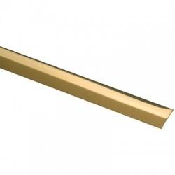 Bande de seuil Laiton poli largeur 30 mm Profilpas