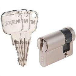 Demi-cylindre EXEM F9 Nickelé varié