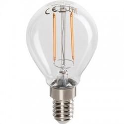 Lampe LED Luster Classic à filamentE14 Philips