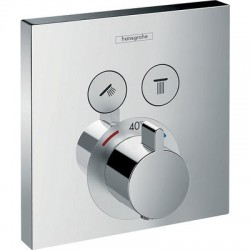 Set de finition pour mitigeur thermostatique ShowerSelect E encastré Hansgrohe