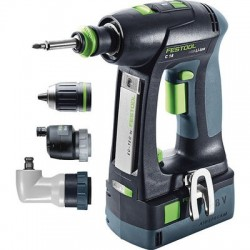 Perceuse visseuse C18 Li 5,2 Set Festool