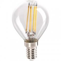 Lampe ampoule LED à filament Sphérique E14 Miidex