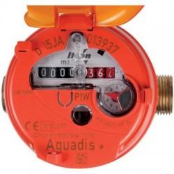 Compteur divisionnaire volumétrique Aquadis+, eau chaude Itron