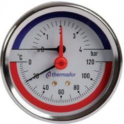 Manothermomètre axial