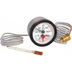Thermomanomètre avec soupape Réf. S17007044 PCE DET CHAPPEE/BROTJE/IS CHAUFF
