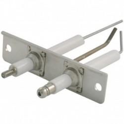 Ensemble détection allumage ionisation Lg 60mm Réf. S17002052 PCE DET CHAPPEE/BROTJE/IS CHAUFF