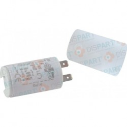 Condensateur 5Uf COUGAR Réf. S58209851 PCE DET CHAPPEE/BROTJE/IS CHAUFF