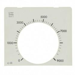 Plaque pour jauges UNITOP-ELECTRO Réf 2100061 EUROJAUGE
