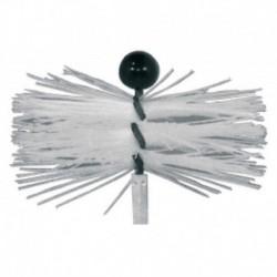 Hérisson polyamide ramonage par le bas PVC Ø100 Réf. 1611 PROGALVA