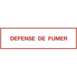 Pancarte défense de fumer Réf 215271 SELF CLIMAT