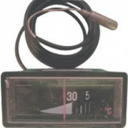 Thermomètre plat Grand modèle rectangulaire Réf. 95365157 DE DIETRICH
