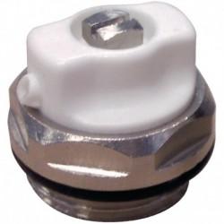 Bouchon purgeur 15x21 p/radiateur acier (en vrac) Réf BP15V THERMADOR