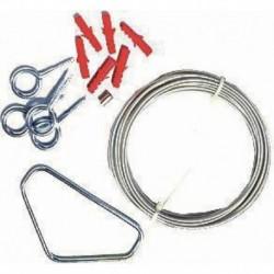 Sachet d'accessoires pour boîte vanne police Réf 215014 SELF CLIMAT