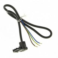 Prise 3 pôles Mate N Lock avec câble longueur 0,600mm réf : 13018325 CUENOD