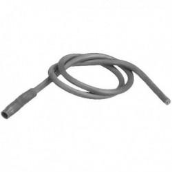 Cable d'allumage avec cosses en silicone Ø4 longueur 255mm Réf. 13011123 CUENOD
