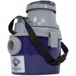 Aspirateur 8L eau et poussière KOSMOS 8 Moteur 1000W. Flexible lg 2,5m.fonction soufflerie Réf. 1015 PROGALVA