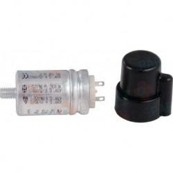 Condensateur 3Uf + capot de protection Réf. S58083768 PCE DET CHAPPEE/BROTJE/IS CHAUFF