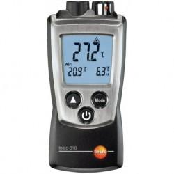 Thermomètre infrarouge et d'ambiance de poche TESTO 810 avec étui de transport Réf 5600810