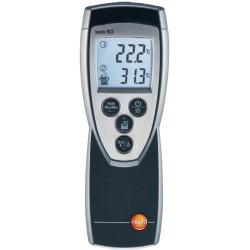 Thermomètre 2 canaux universel 2 entrées à thermocouple K calcul direct delta température Réf 05609221 TESTO