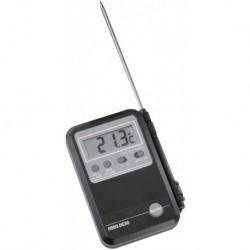 Mini thermomètre économique -50+150 530 air/gaz/liquide économique. Livré avec une sonde avec cordon. Réf. 9000530 TESTO