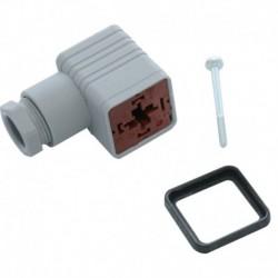 Connecteur IP65, pour bobines type BB Réf. 042N0156 DANFOSS CHAUFFAGE