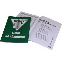 Livret de chaufferie 50 pages Réf. 215021 SELF CLIMAT